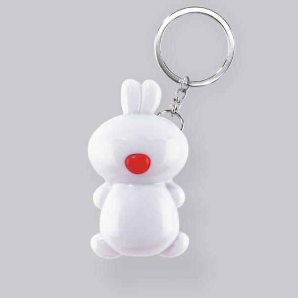 兔宝宝钥匙扣(带LED灯)