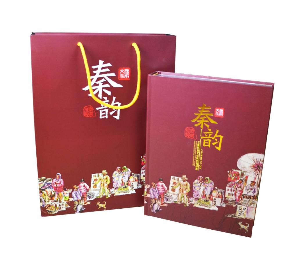 秦韵陕西文化册