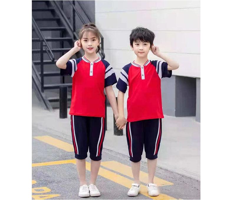 小学生夏装校服