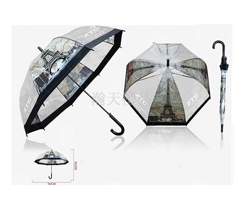 8股直杆自动伞