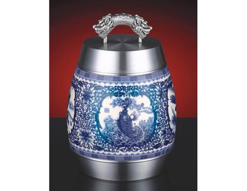 《万事如意》陶瓷罐
