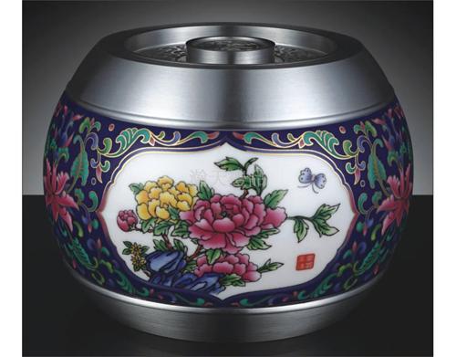 《富贵美满》彩色罐